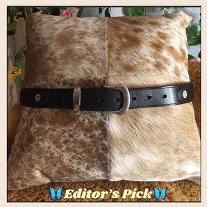 *Buckaroo* Genuine leather belt made in Australia